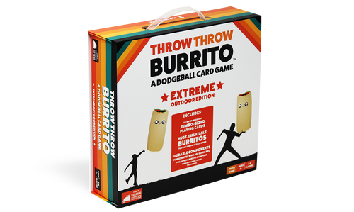 Throw Throw Burrito, Extreme Outdoor Edition (Sold Out)