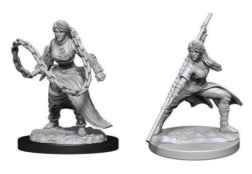 Human Monk  Female—D&D Nolzur's Marvelous Miniatures (Pre-Order)