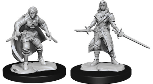 Half-Elf Rogue  Female—D&D Nolzur's Marvelous Miniatures (Pre-Order)