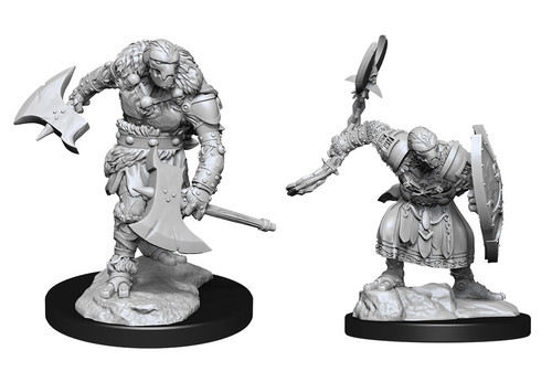 Warforged Barbarian—D&D Nolzur's Marvelous Miniatures (Pre-Order)
