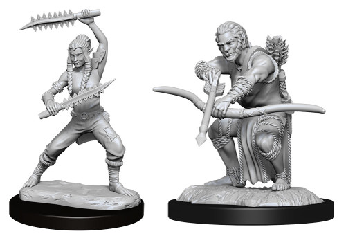Shifter Wildhunt Ranger Male—D&D Nolzur's Marvelous Miniatures (Pre-Order)