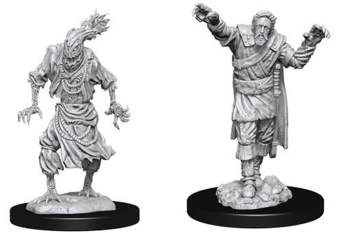 Scarecrow & Stone Cursed—D&D Nolzur's Marvelous Miniatures (Pre-Order)