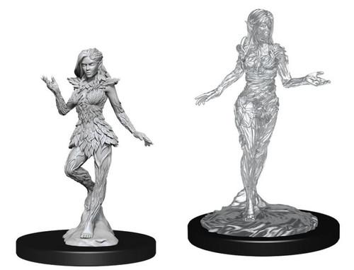 Nymph & Dryad—Pathfinder Deep Cuts Unpainted Miniatures (Pre-Order)