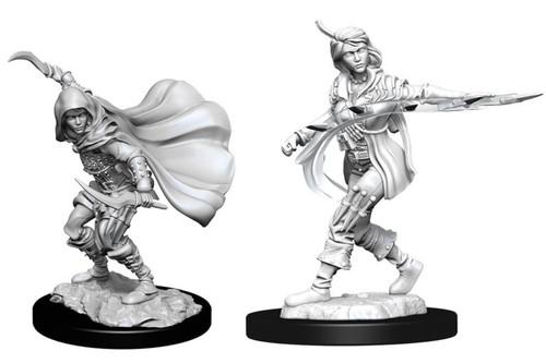 Human Rogue Female—Pathfinder Deep Cuts Unpainted Miniatures W14