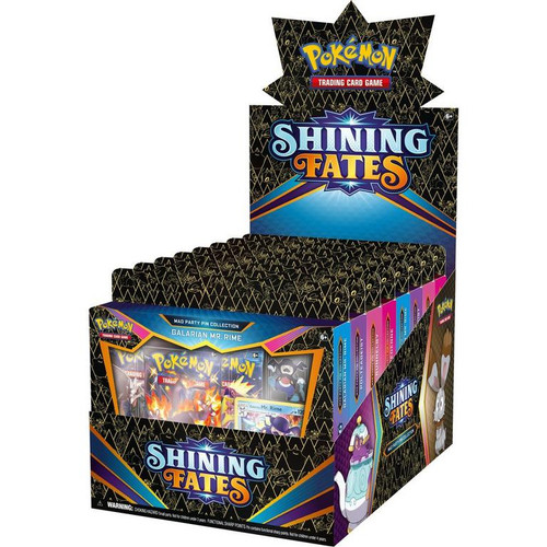 Mad Party Pin Collection, Shining Fates—Pokémon Sword & Shield (1 of 4 Variants) (Allocated) (Pre-Order)
