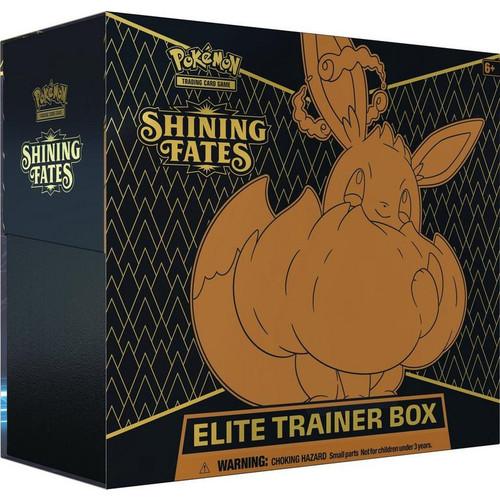 Elite Trainer Box, Shining Fates—Pokémon Sword & Shield (Allocated) (Pre-Order)