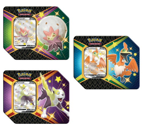 Shining Fates Tin—Pokémon Sword & Shield (1 of 3 Variants) (Allocated) (Sold Out)