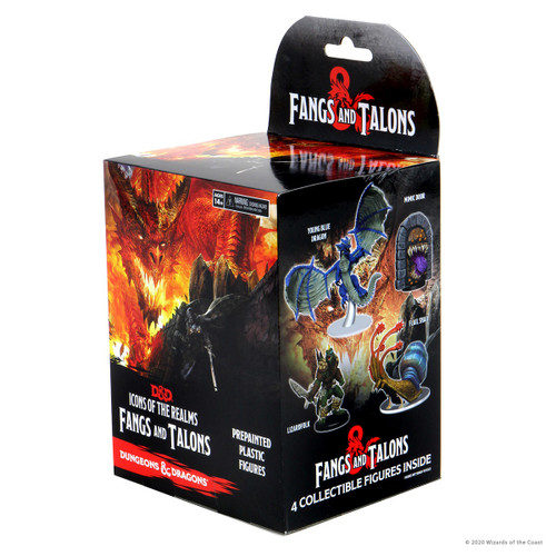 Fangs & Talons Pre-painted Miniatures Booster—Icons of the Realms