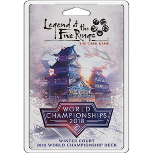 Winter Court 2018 World Champ Deck—Legend of the Five Rings