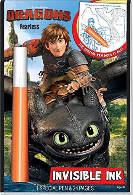 How to Train Your Dragon—Magic Pen Activity Book