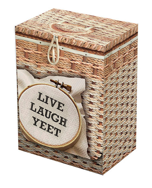 Live Laugh Yeet deckbox (Pre-Order)