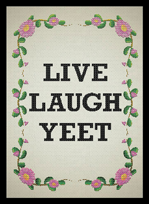Live Laugh Yeet sleeves (50) (Sold Out)