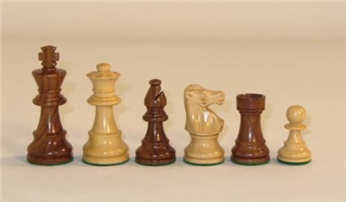 "Chessmen: 3"" Sheesham & Boxwood, Lardy Style Knight (Sold Out)"