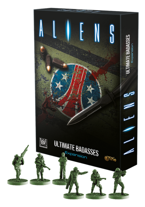 Aliens: Ultimate Badasses (Expansion) (Sold Out)