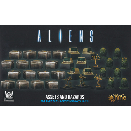 Aliens: Assets and Hazards (Add-On) (Sold Out)