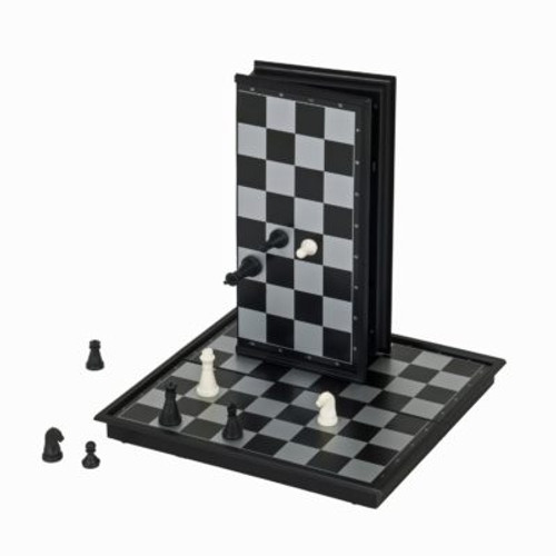 Chess Set: Folding Magnetic 10""