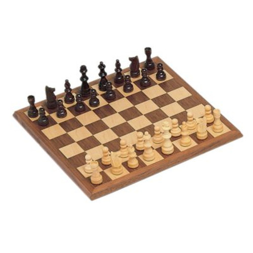 "Chess Set: Walnut 12"" Board with 2.75"" Pieces"