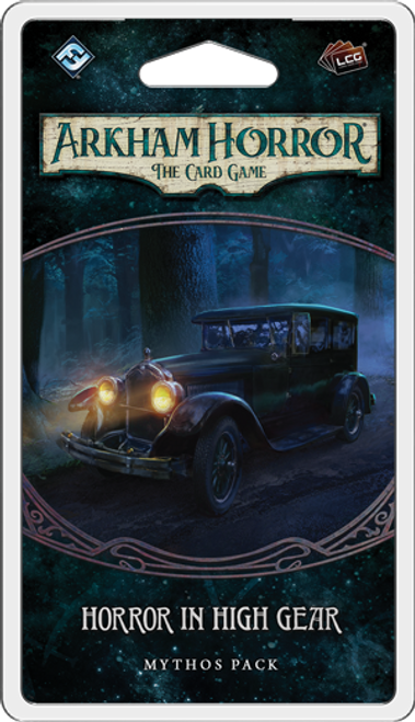 Horror in High Gear, Mythos Pack—Arkham Horror: The Card Game (Pre-Order)