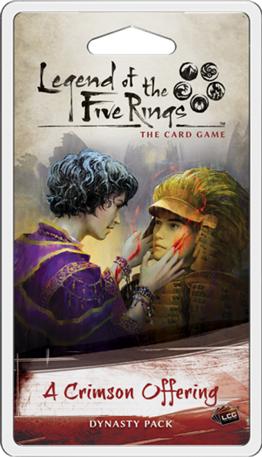 A Crimson Offering, Dynasty Pack—Legend of the Five Rings (Pre-Order)
