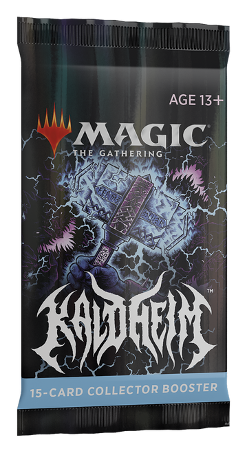 Collector Booster, Kaldheim—Magic the Gathering (Pre-Order)