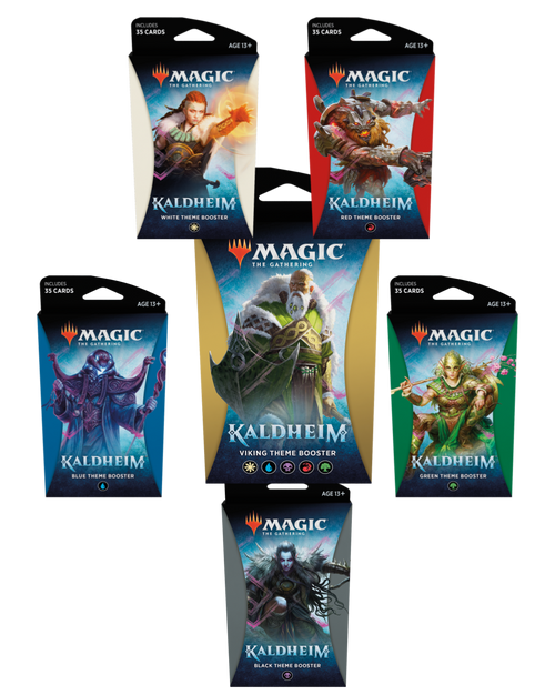 Theme Booster, Kaldheim—Magic the Gathering (Sold Out)