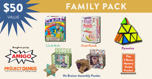 Amigo Family Game and Puzzle Bundle