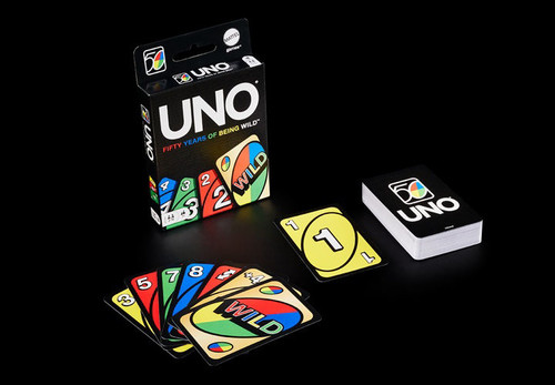 Uno 50th Anniversary—Gold Wild Cards