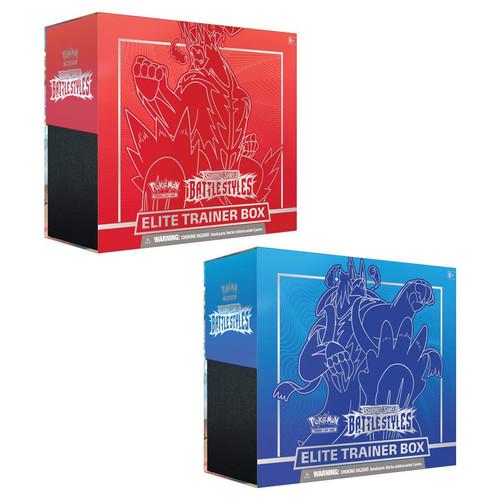 Elite Trainer Box, Battle Styles—Pokémon Sword & Shield (Allocated) (Pre-Order)