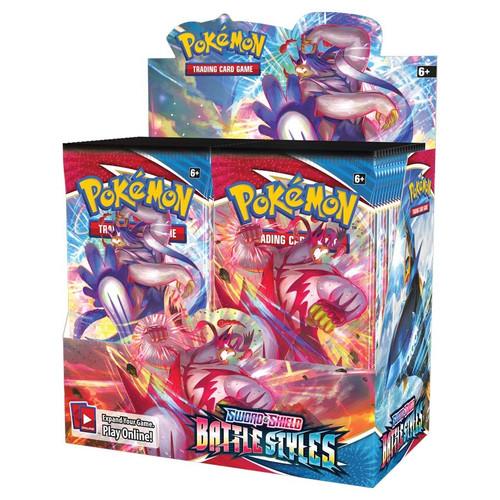 Booster Pack, Battle Styles—Pokémon Sword & Shield (Pre-Order)