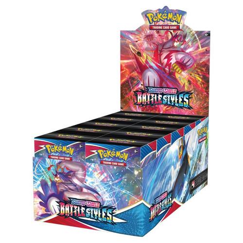 Build & Battle Box, Battle Styles—Pokémon Sword & Shield (Allocated)