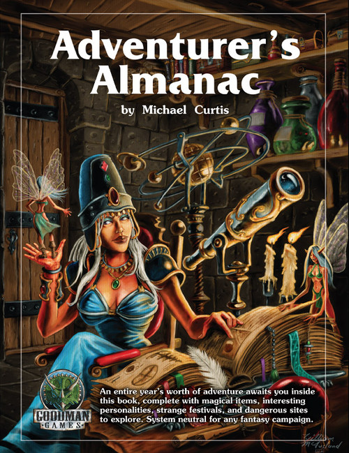 Adventurers Almanac (Hardcover) (Sold Out)