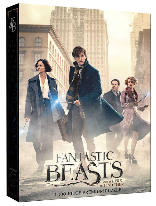 Fantastic Beasts: The Search 1000pc