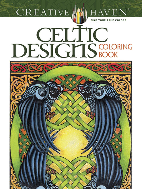Celtic Designs: Creative Haven Coloring Book