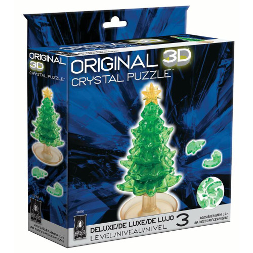 Christmas Tree Crystal 3D Puzzle