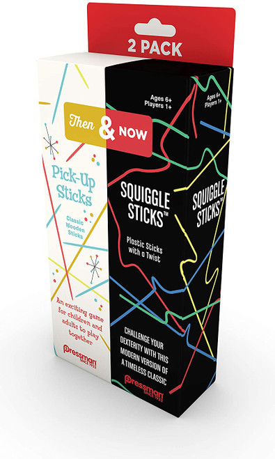 Pickup Sticks and Squiggle Sticks