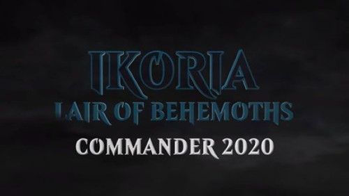 All Commander Decks, Ikoria—Magic the Gathering (Set of Five Decks) (In-Store Pickup Only) (Sold Out)
