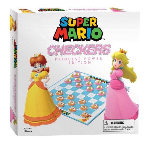 Checkers: Super Mario, Princess Power Edition (Sold Out)