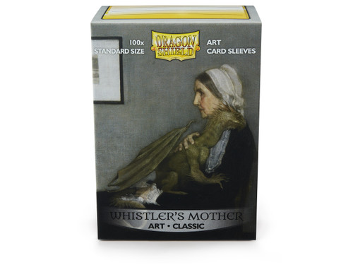 Whistlers Mother Art Dragonshields 100ct (Sold Out)
