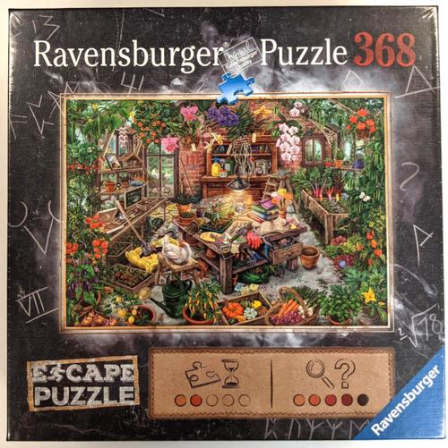 The Cursed Greenhouse 368pc Escape Puzzle