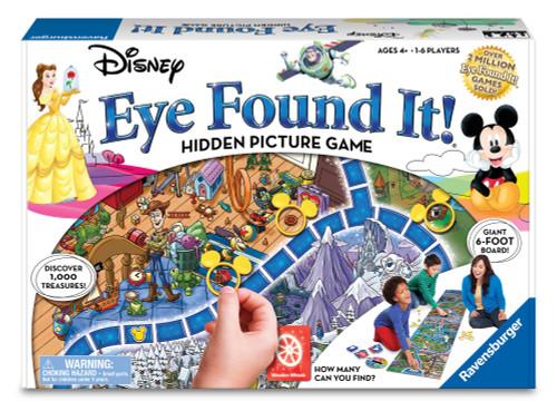 Eye Found It! Disney Hidden Picture Game