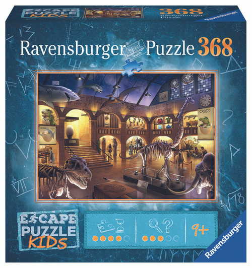 Museum Mysteries 368pc Escape Puzzle Kid (On Order)