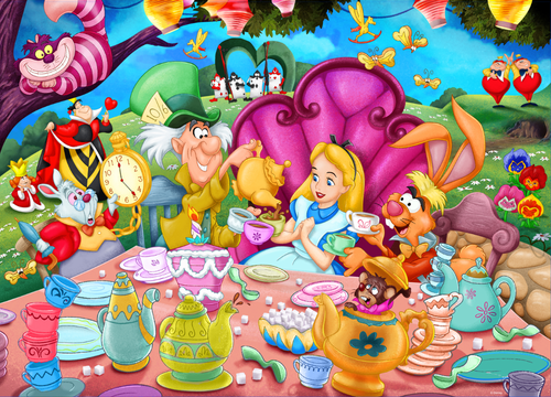 Alice in Wonderland 1000pc - Disney (Sold Out)