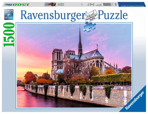 Picturesque Notre Dame 1500pc (Sold Out)