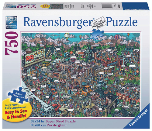 Image result for ravensburger acts of kindness puzzle