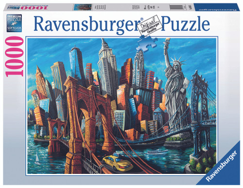 Welcome to New York 1000pc