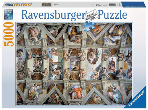 Sistine Chapel 5000pc (In-Store Pickup Only) (Sold Out)