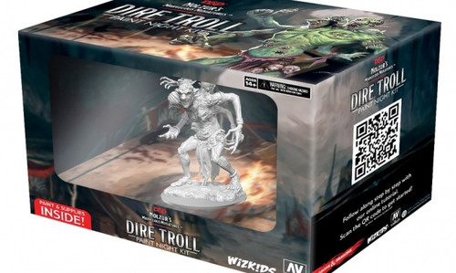 Dire Troll Paint Night Kit - D&D Nolzur's Marvelous Miniatures (Sold Out)