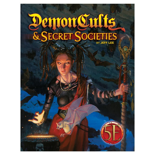 5E: Demon Cults & Secret Societies (Sold Out)