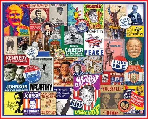 Poster Politics 1000pc
