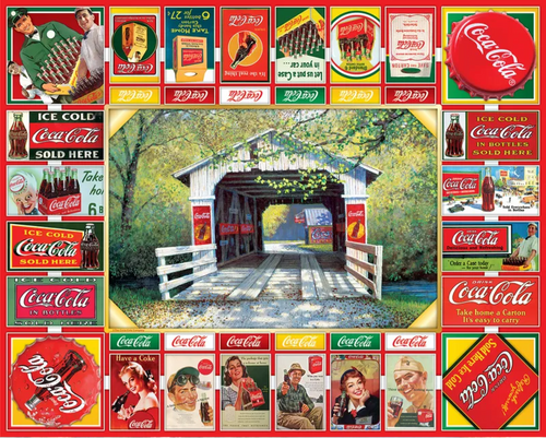 Coca-Cola Gameboard 1000pc